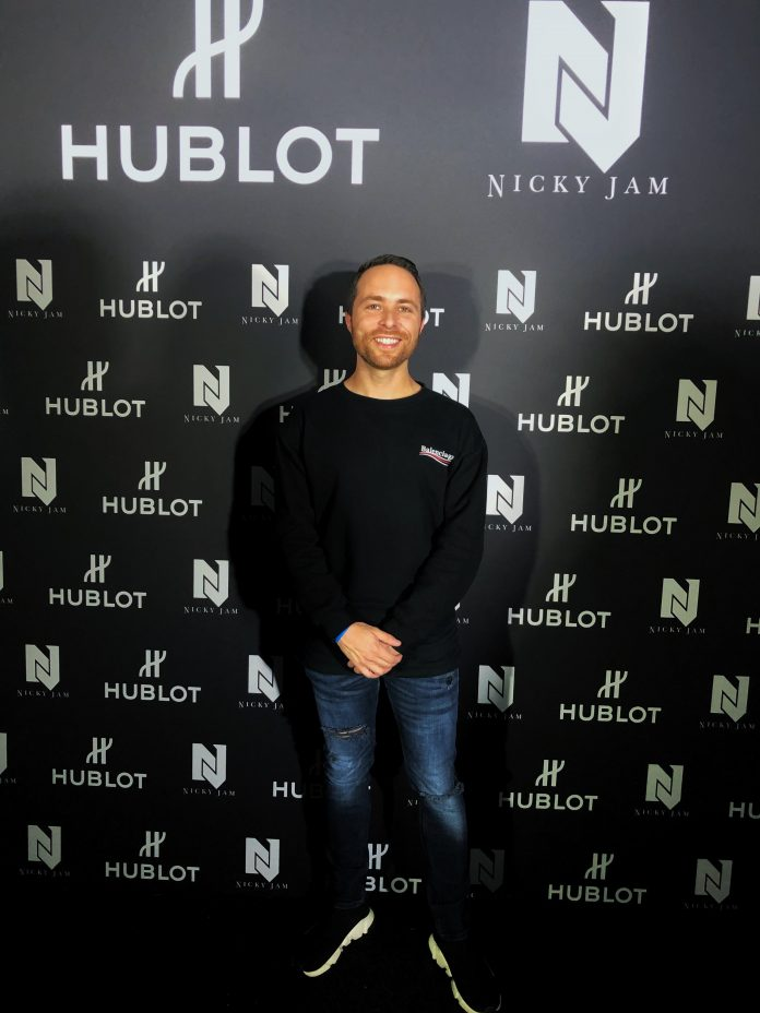Igor Montemor at Hublot